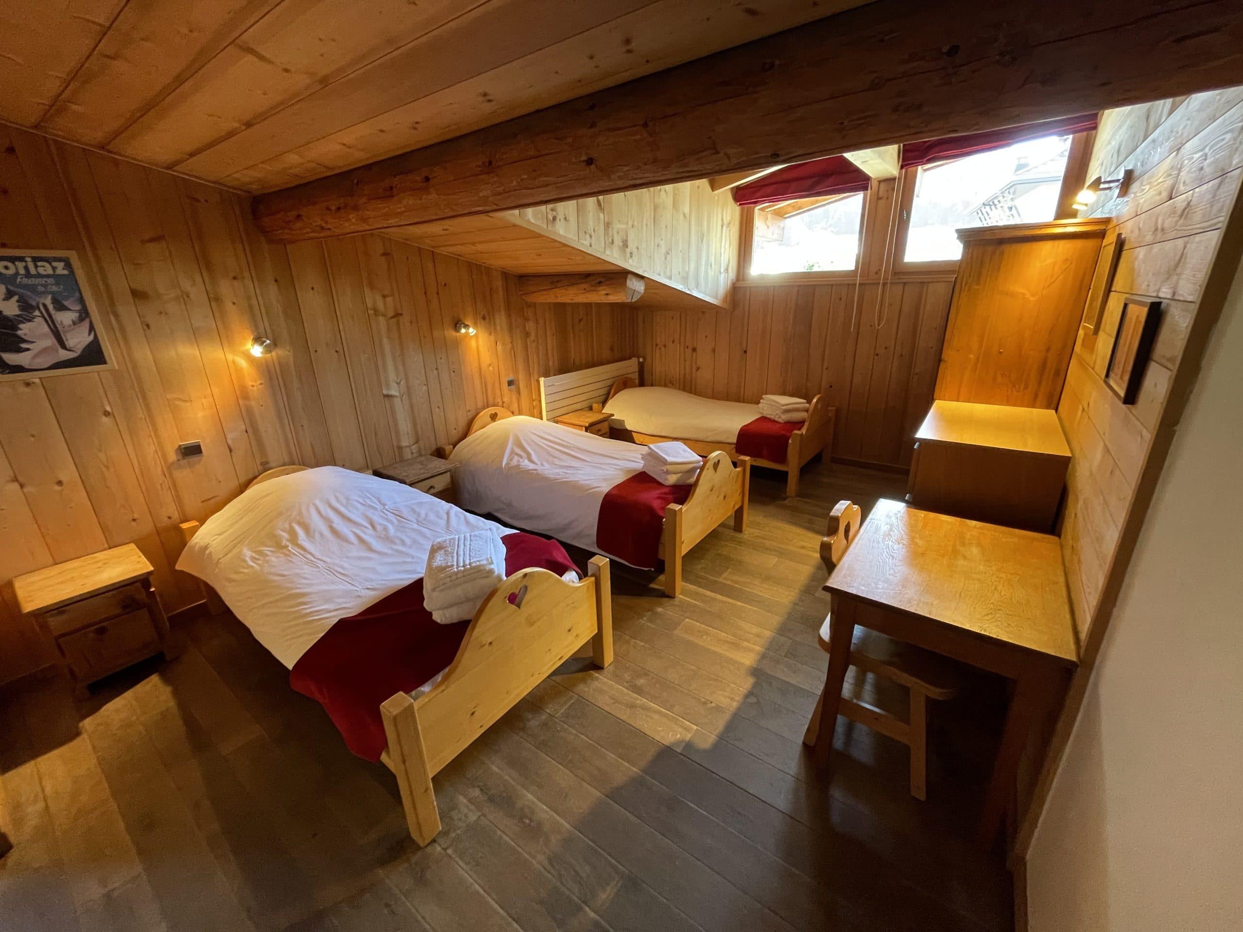 Belle chambre avec salle d ebain privative pour des vacances à la montagne au Skade Morzine